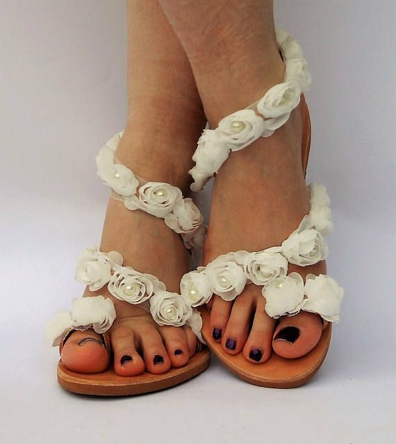 Luxurious Sandals Bridal Sandals Wedding Flat Sandals