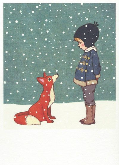 Postkaart van Belle and Boo. Zacht en fijn papier! 105x148mm, uitgeverij Nineteen Seventy Three / 1973. Binnenkort weer op voorraad