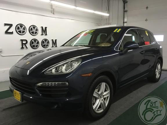 2011 Porsche Cayenne S for sale at First City Cars and Trucks in Rochester, NH