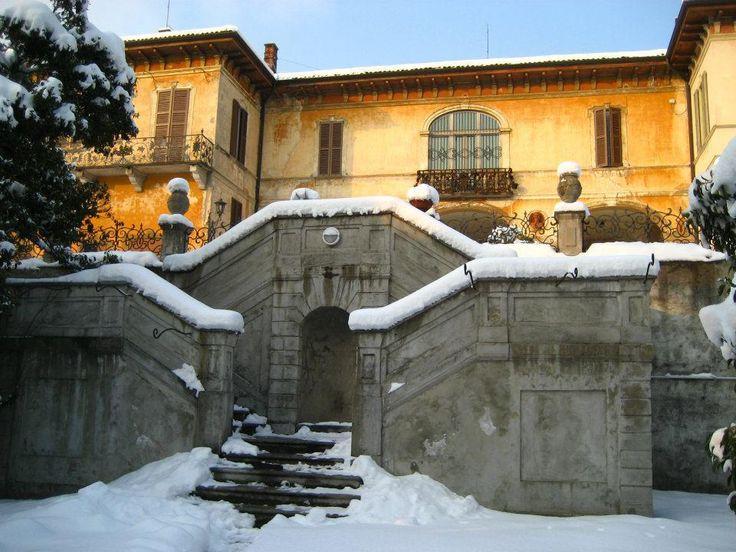 Inverno a Villa Cagnola
