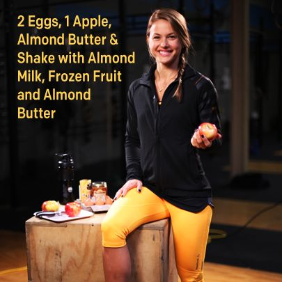 For the 6th day of fitness, Christmas Abbott shares her favorite healthy breakfast foods to help you make better decisions throughout the day. Pair your morning meal with the right workout outfit: http://shop.reebok.com/us/women-s-one-series/_/N-u3Z1z11zrfZ1z122zr. #12DaysofFitness