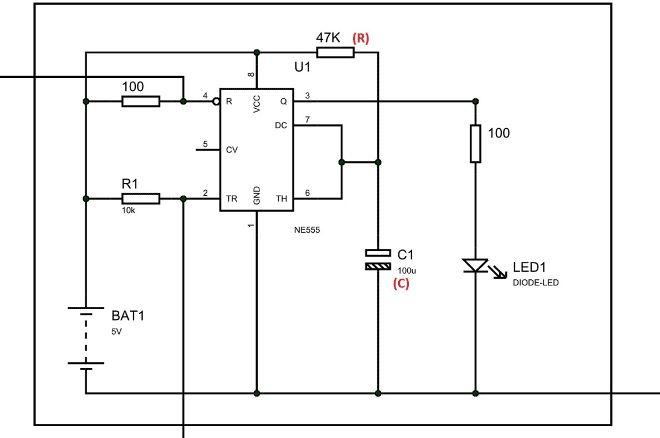 555 Timer Based Simple Electronic Code Lock Circuit