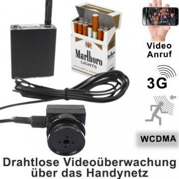 UMTS Live-Videoüberwachung mit Knopflochkamera für globale Fernüberwachung