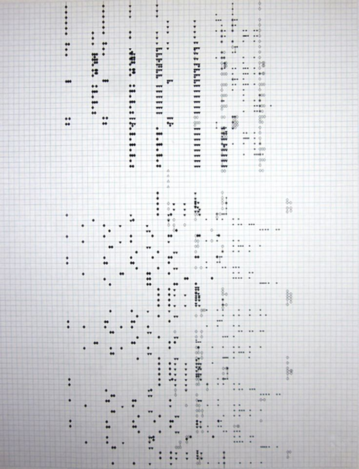 Elaine Longtemps – Musicgraphcs for Song of the Gopis, graphic score, date unknown