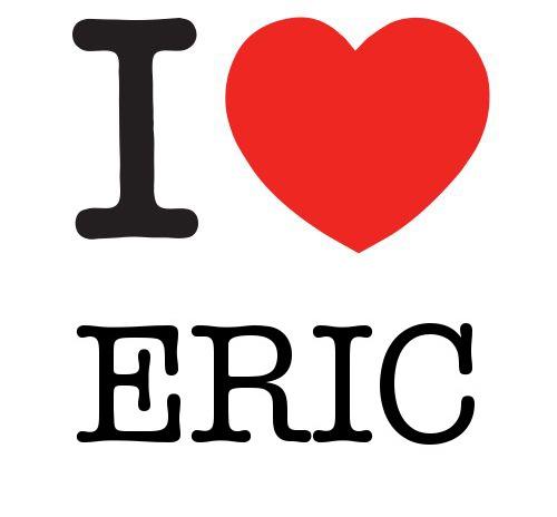 I Heart Eric #love #heart