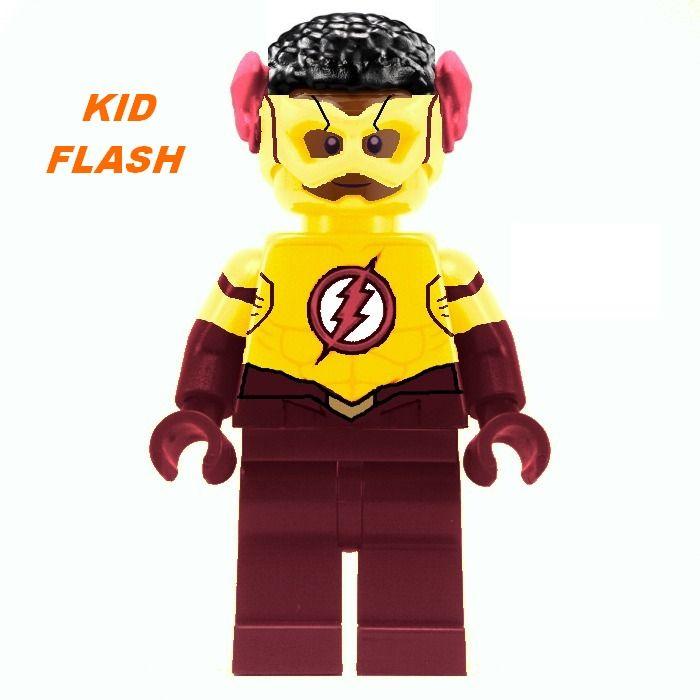 LEGO Ideas - Minifigures The Flash Team