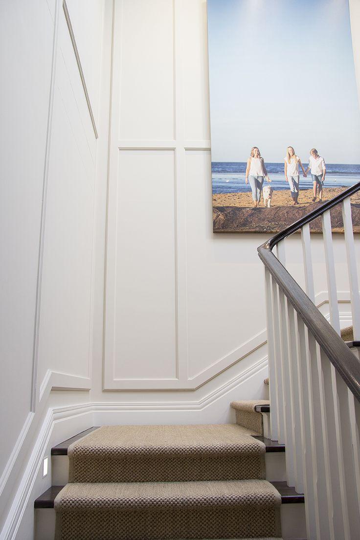 Hamptons style skirting & wainscoting
