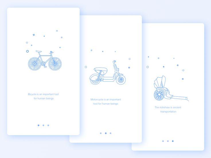Non motorized guide page design