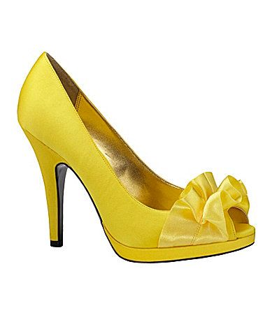 73 best Yellow & Mustard Shoes images on Pinterest | Shoes heels ...