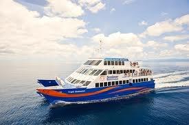 Luxury style boat cruising