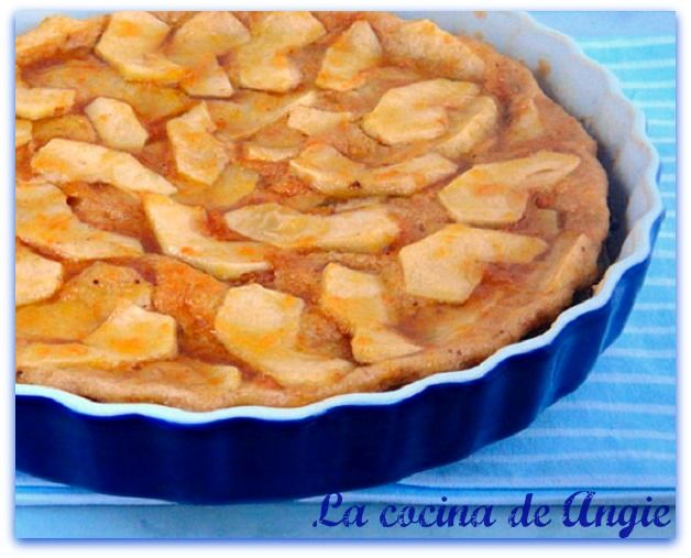 La cocina de angie tarta de manzana al microondas for Cocina al microondas