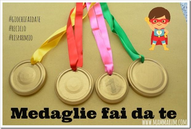 medaglie fai da te