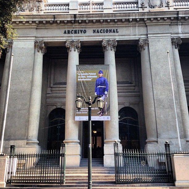 Archivo Nacional Histórico en Santiago de Chile, Metropolitana de Santiago de Chile