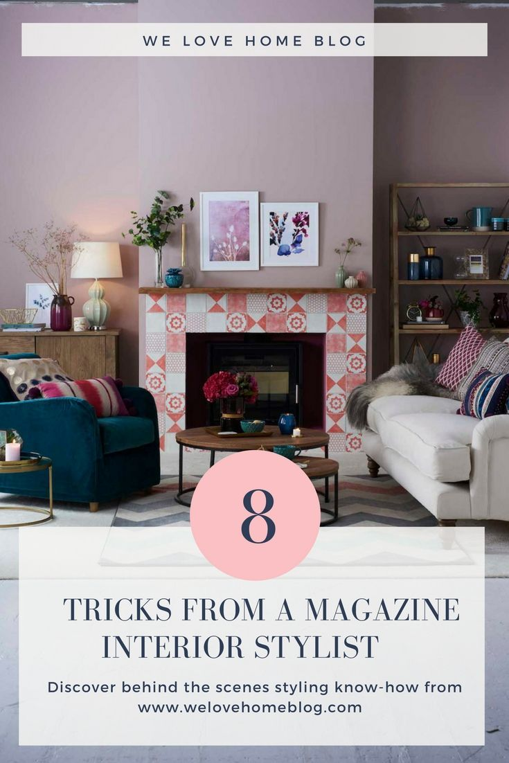 Styling The Purple Trend With Good Homes Magazine House Home