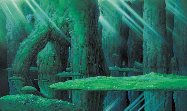 もののけ姫/Princess Mononoke by Nizo Yamamoto http://www.yamamoto-nizo.com/