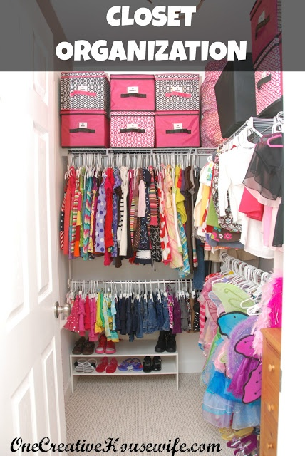 Organizing My Daughter 39 S Closet Closet Ideas Pinterest