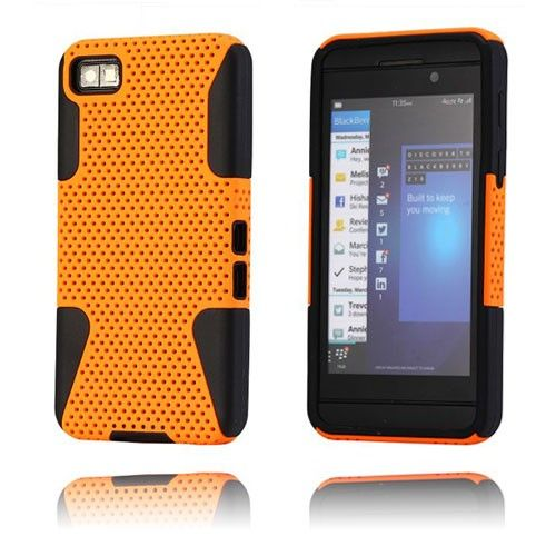 Shooter (Orange) Blackberry Z10 Cover