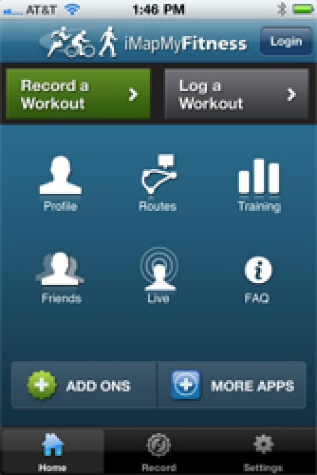 The 11 Best Exercise and Fitness Apps for the iPhone: iMapMyFitness