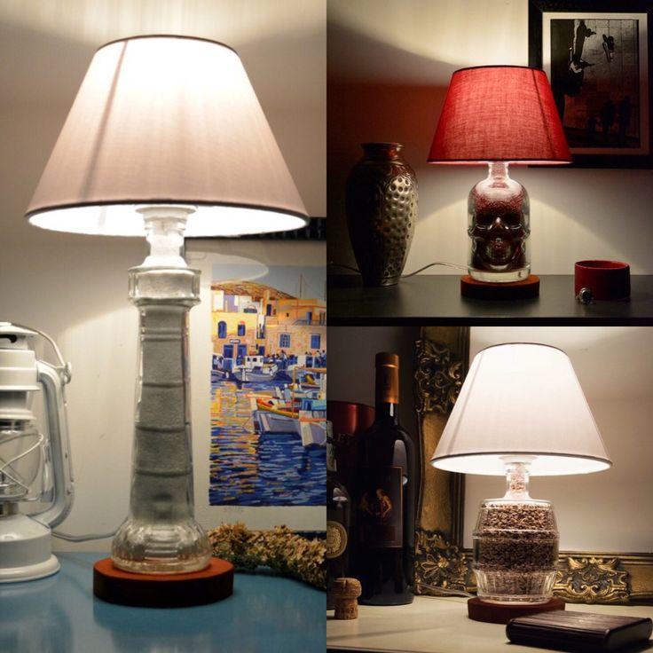 25+ best ideas about Lampade Bottiglia su Pinterest  Lampade bottiglia di liquore, Lampade in ...