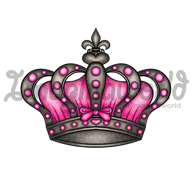 Queens Crown Tattoo by imaginaworld.deviantart.com on @deviantART