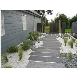 Dalle ardoise d coration jardin pinterest for Decor paysagiste jardin