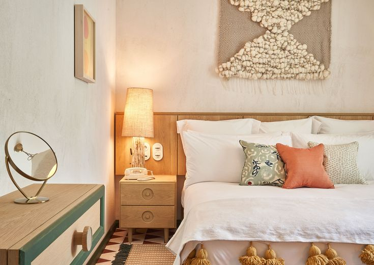 Little Beach House Barcelona has 17 bedrooms, some with roof terraces and outdoor bathtubs overlooking the bay of Garraf. Sitges, Outdoor Bathtub, Ways To Sleep, Egyptian Cotton Sheets, Free Fabric Samples, House Viewing, Soho House, Linen Sheets, Wood Interiors