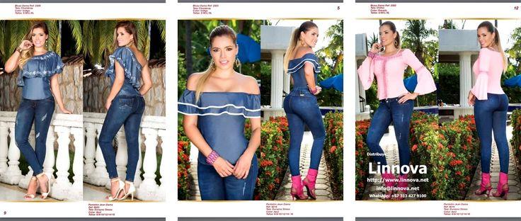 AA0302 - Jeans & Blusas