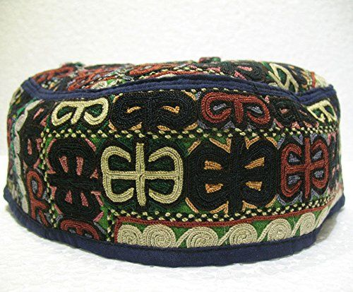 Antique turkoman super fine embroidery hat turkish beret ... http://www.amazon.com/dp/B01F02YNGO/ref=cm_sw_r_pi_dp_2Ynjxb039ENNS