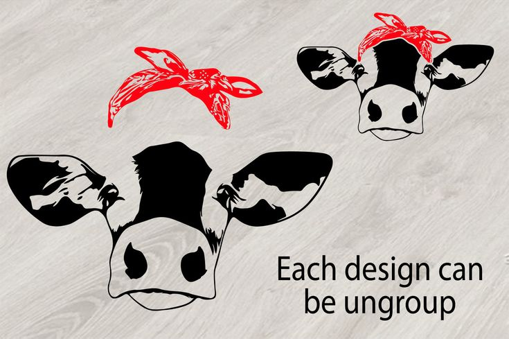 Download Bandana Svg Files Cow Free in 2020 | Free svg, Cow head ...