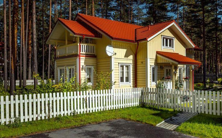 Karelia modellen – Timmerhus på landet från Finland