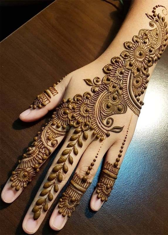 Modern Mehndi Henna Arts For Fashionable Women In 2019