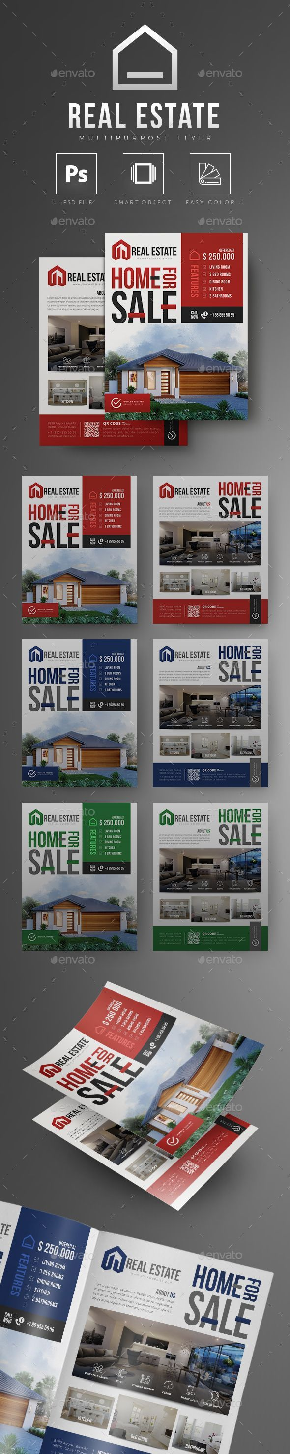 #Real Estate #Flyer - Commerce Flyers #realestatepostcards