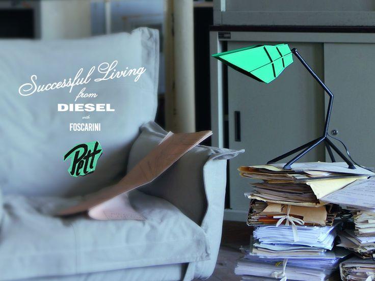 Kolekcja Pett od Diesel with Foscarini. Dla nas śliczna ! → http://bit.ly/FoscariniPett