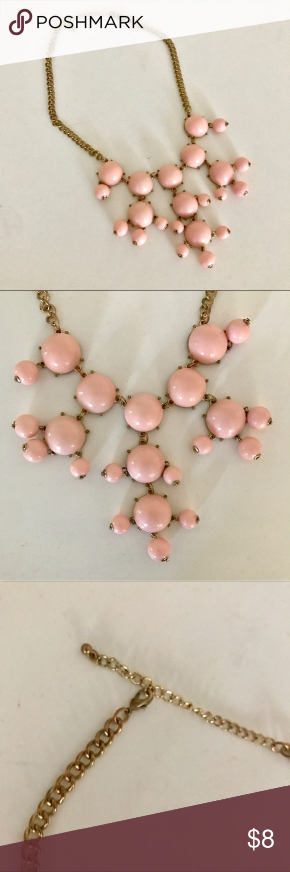Pink Bubble Necklace Pink Bubble Necklace. Cute addition to any outfit💕 Jewelry Necklaces