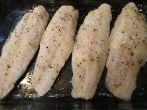 Frozen Fish to Baked Fish with an Italian Bread Crumb Crust. **this was delicious! Made with frozen (yes, put it directly in the oven frozen!) flounder. Even better with fresh parmesan sprinkled under the bread crumbs and lemon on top!