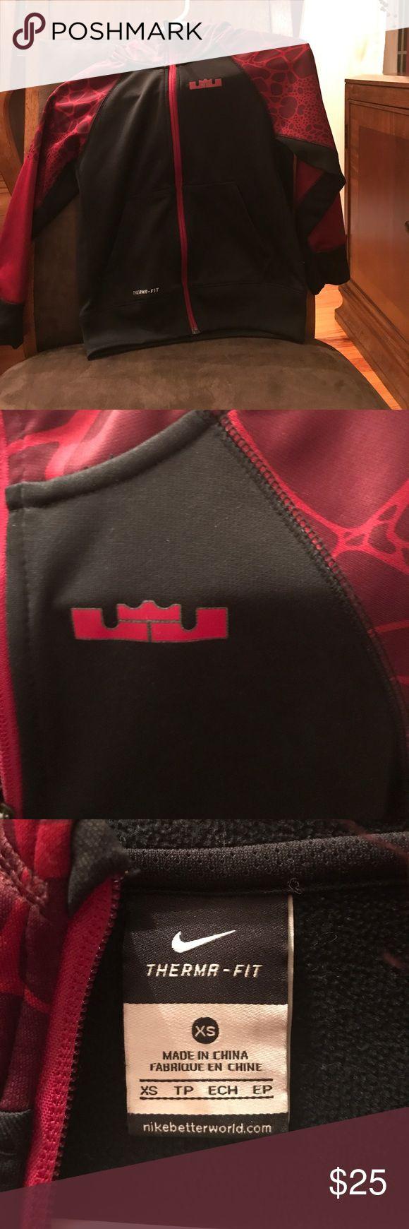 Nike Lebron James Zip Up Hoodie Nike Lebron James Zip Up Hoodie • Boys XS • Good Condition Nike Shirts & Tops Sweatshirts & Hoodies