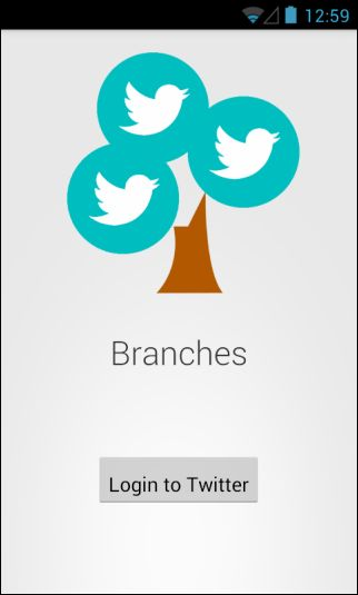 Branches Is An Android Twitter App That Groups Recent Tweets By User | via AddictiveTips