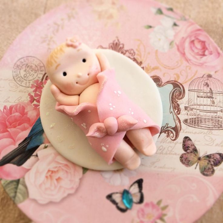 128 Best Images About Baby Cake Toppers On Pinterest