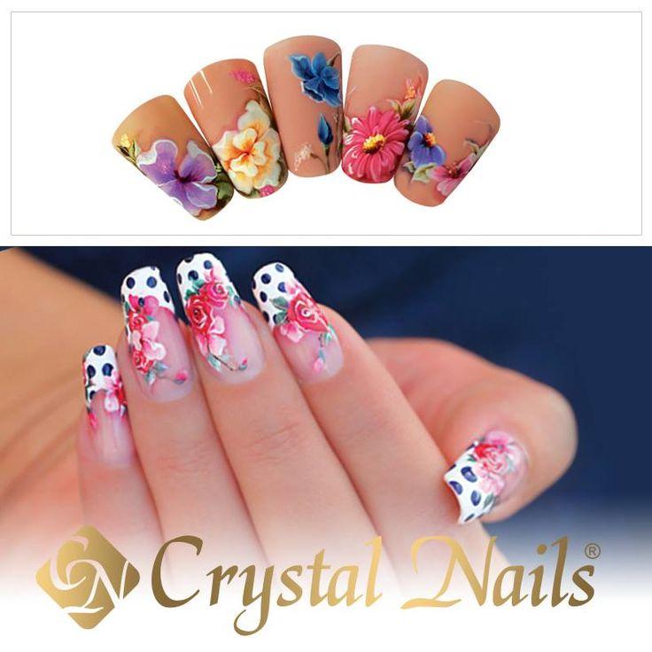 34 best Spring fever images on Pinterest | Crystal nails, Summer ...