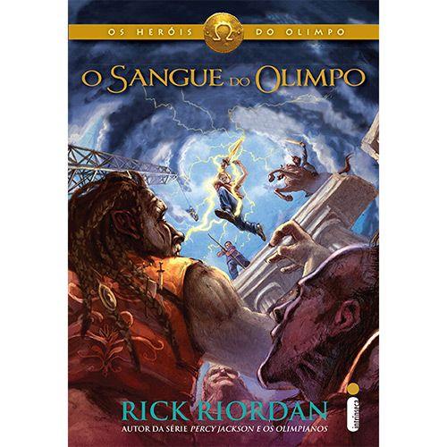 O Sangue do Olimpo - Rick Riordan. Coleção Os Heróis do Olimpo, Vol. 5