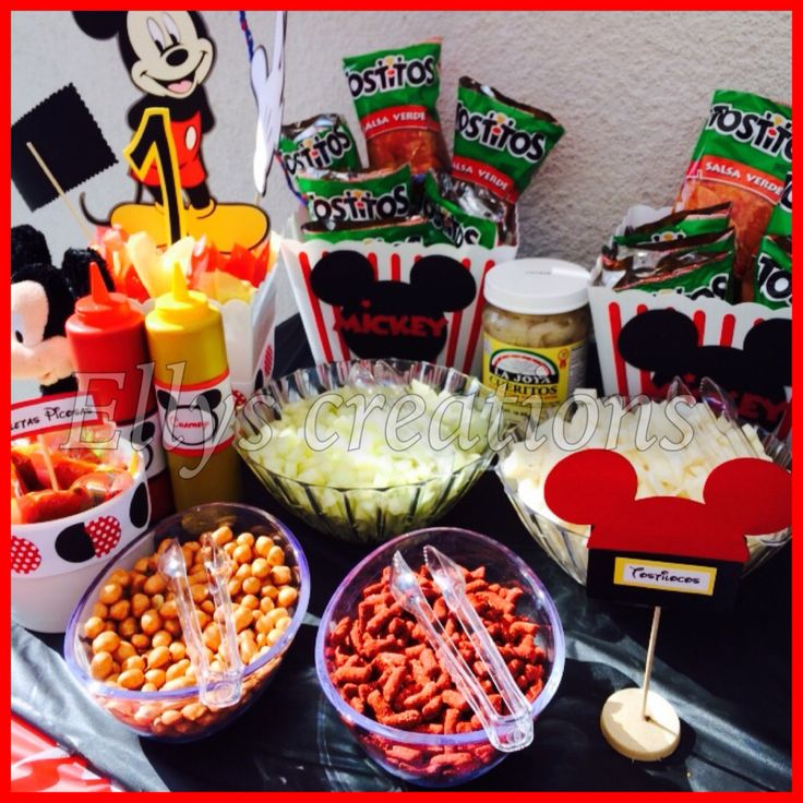 Tostilocos Bar Minnie Mouse Bday Pinterest Bar