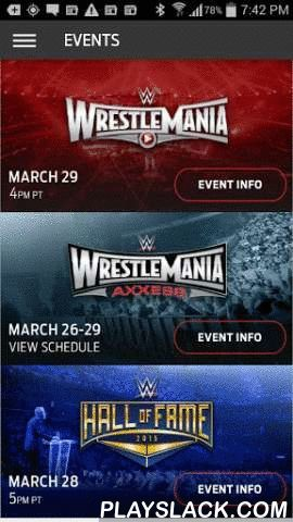 WWE WrestleMania  Android App - playslack.com , WWE WrestleMania is the official mobile app for those attending WrestleMania 31, WrestleMania Axxess and the 2015 WWE Hall of Fame in San Jose and Santa Clara, CA from March 26 to March 29, 2015. The WWE WrestleMania App is your ultimate guide to every event you're headed to during WrestleMania Week in the Bay Area. You'll be the first to get updates on event details — such as Superstar Signings — directly to your mobile device. You can tap…