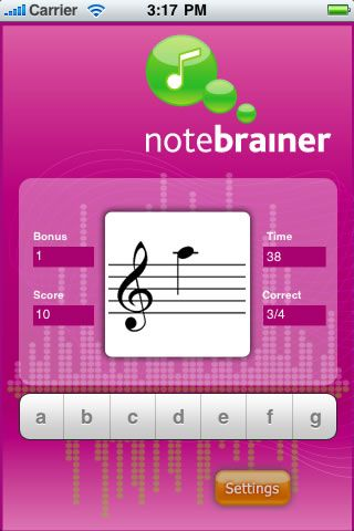 A simple, free, note trainer application to help you learn to read sheet music.