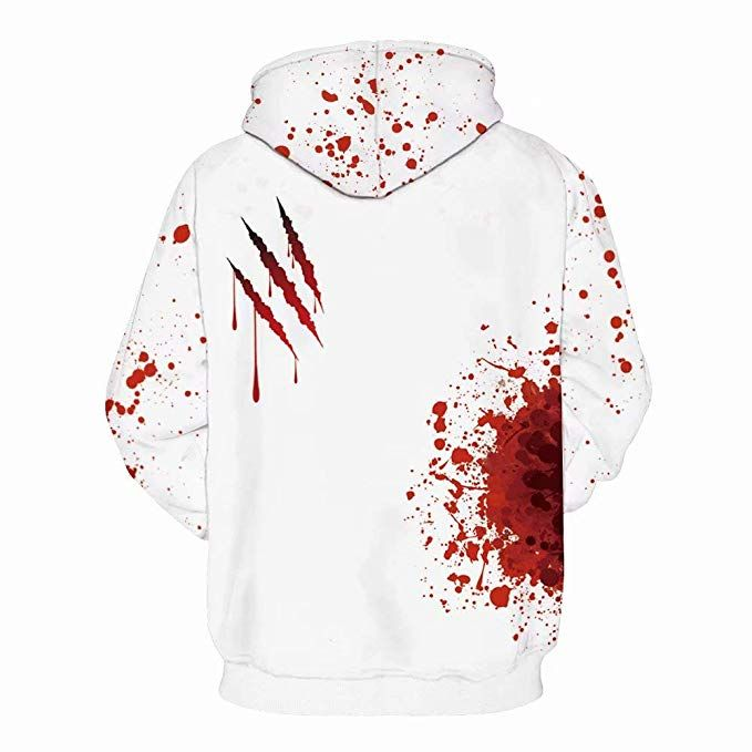 new release wholesale online store Amazon.com: U LOOK UGLY TODAY Pullover Sweatshirt Bloody-I'm ...