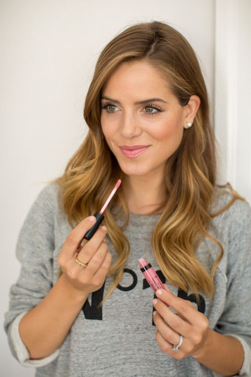 @galmeetsglam picks out the perfect new pink gloss from @laurageller - available now @WeAreBeautyKind