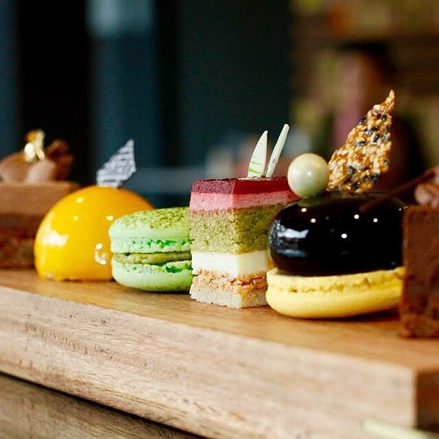 Some days it's just too hard to choose only one... So why not pop in for Bibelot's Gourmandise Selection - a tasting board that incorporates nine little Bibelot bites. Délicieux! #bibelot #dessert #tastingplate #sweets #melbourne