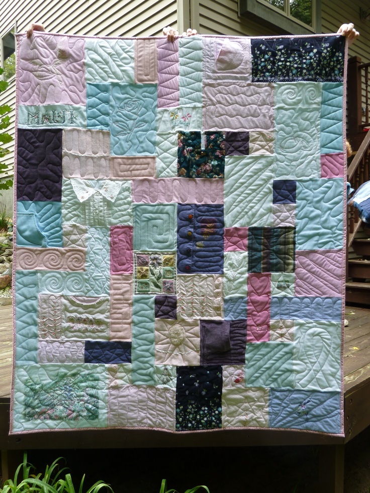17 Best Images About Memorial Quilts On Pinterest
