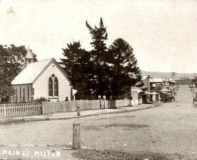 Main St,Milton,New South Wales (year unknown).A♥W