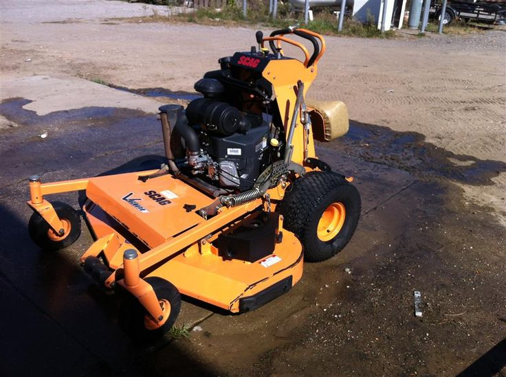 SCAG V-Ride Heavy Duty Commercial Zero Turn Mower - Completely Serviced and Ready To Go!
