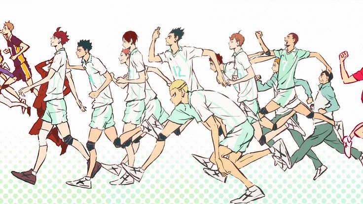 I want to live without regrets — iwaaka: Haikyuu!! Teams
